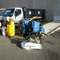 Equipment for concrete job